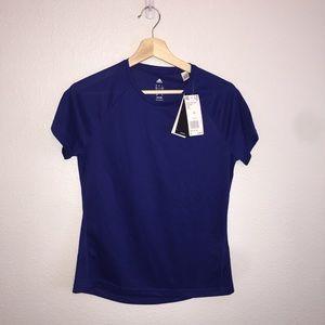 Adidas blue top